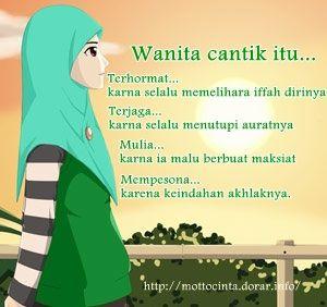 Wanita Muslimah yg Paling Cantik adalah..??