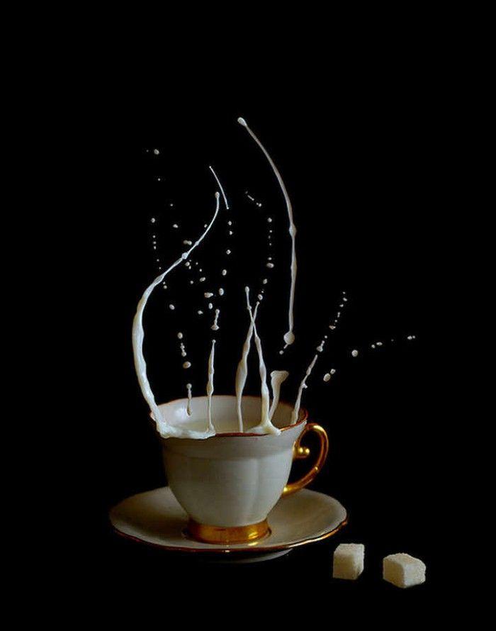 красивые картинки брызги кофе насколько сильно