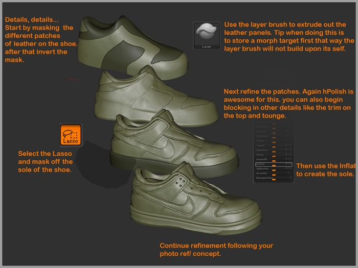 zbrush how to create polygroups