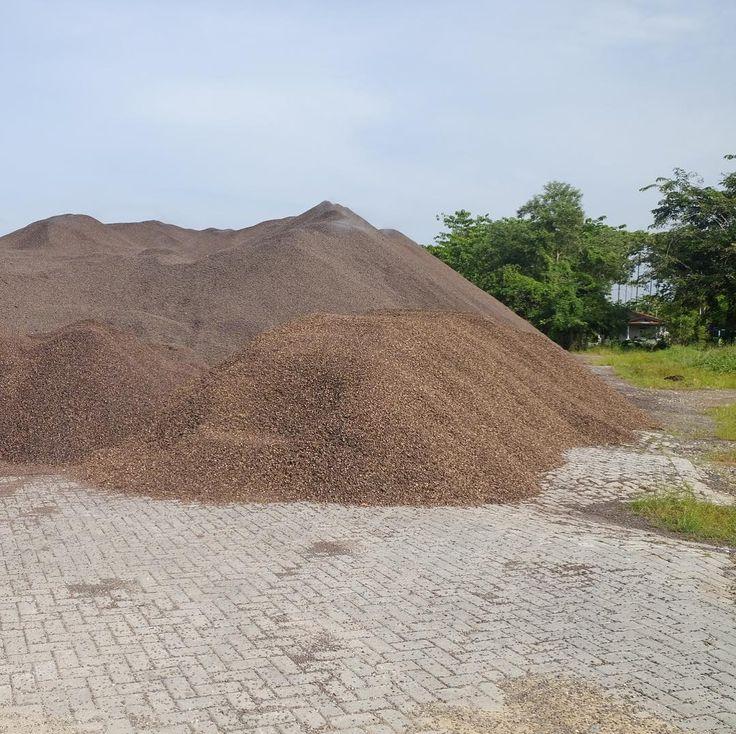 #palm#kernel#shell#stock#pile#yard #pekanbaru #sumatra #indonesia #biomass #fuel #greenenergy ready to ship on long contract
