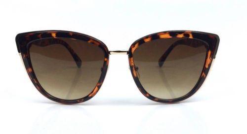 MY-Ronette-Cat-Eye-Style-Women-Sunglasses-Metal-Corners-N-Bridge-Sexy-Girl