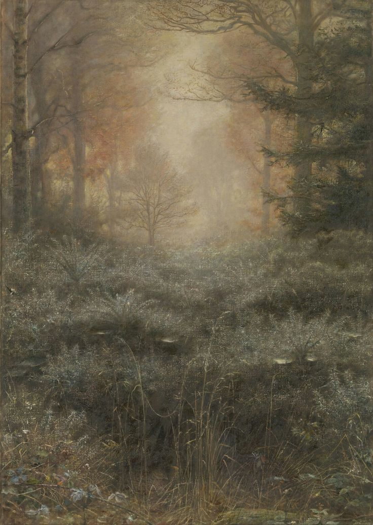 John Everett Millais - Dew-Drenched Furze. 1890