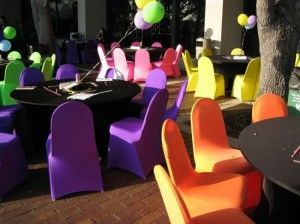 fun party chair sash - Google Search