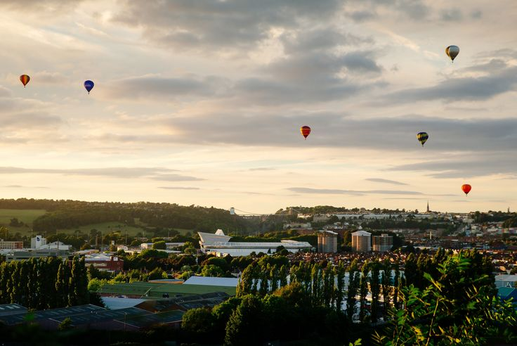 Bristol balloon fiesta – in pictures