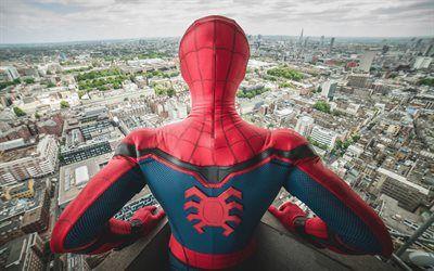 Scarica sfondi Spider-Man, Il Ritorno A Casa, 2017, Di Fantasia, Di Tom Holland