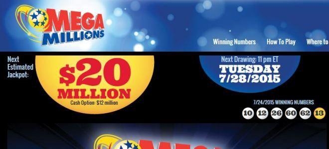 MegaMillions, Millionen, Millions, USA, Dollar, Gewinnzahlen, spielen, lotto