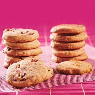 Duo de biscuits croquants - Recettes - Cuisine et nutrition - Pratico Pratique