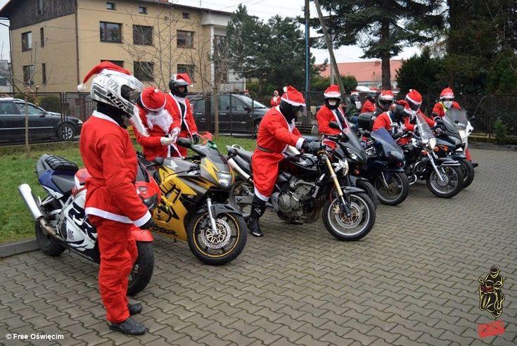 Moto Mikołaje już w sobotę #Oświęcim #Free #FreeOświęcim #MotoMikołaje #Mikołaj #motocykliści #prezent