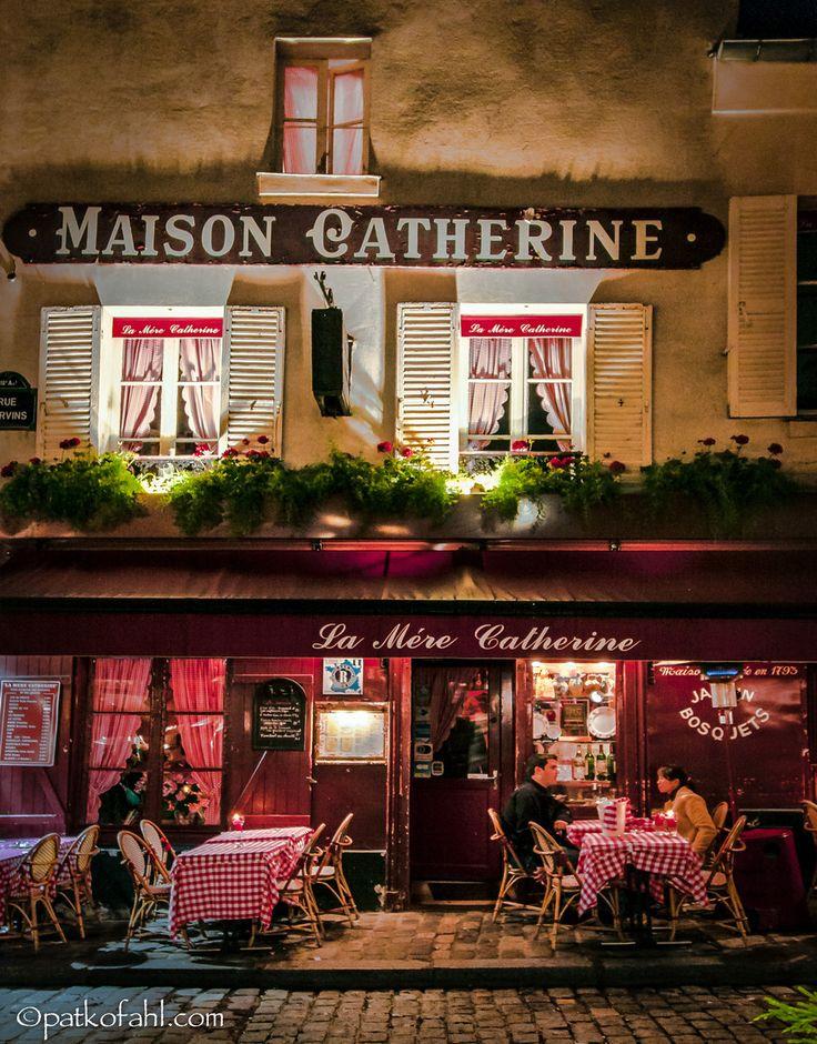 Maison Catherine,  Place du Tetre, Paris by Pat Kofahl          ᘡղbᘠ