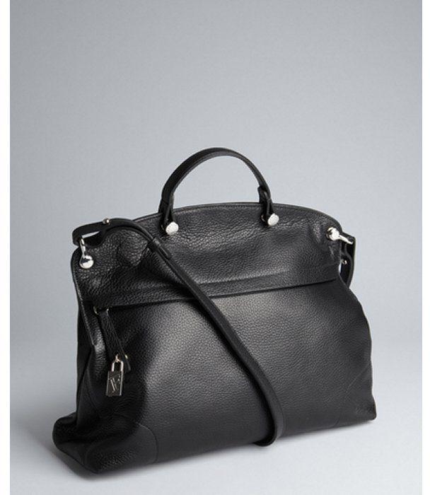 Furla black leather \u0026#39;Piper\u0026#39; large zip satchel on shopstyle.com ...