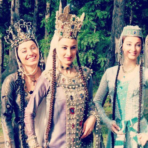 Georgian Sakartvelo girls