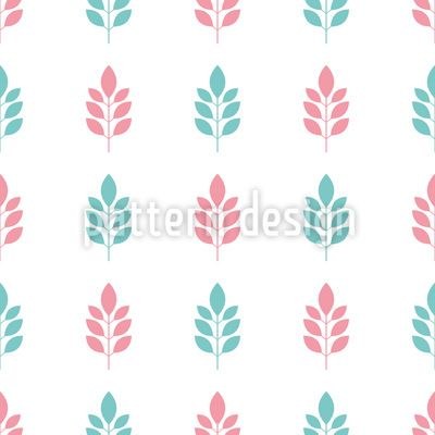 Only Minimalist Branches Pattern Design Pattern Design by Elena Alimpieva at patterndesigns.com