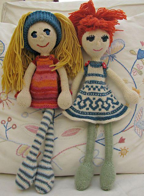 Arne & Carlos dolls... Ravelry: fionacupcake's Dresses