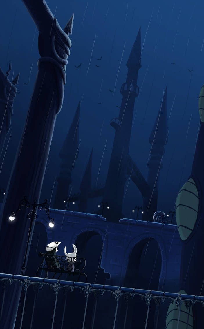 City Of Tears Hollow Knight By Awlita On Deviantart Knight Hollow Art Hollow