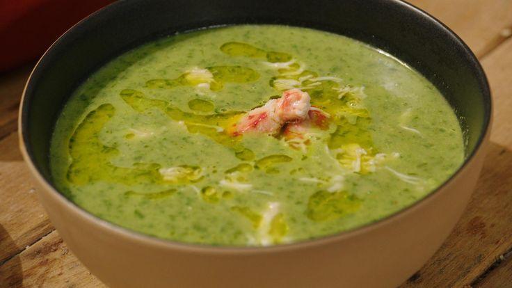 Mosselsoep met kervel, spinazie en courgette | Dagelijkse kost