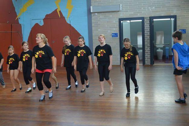 Tip Tap Toe on Summer Dance Camp 2014