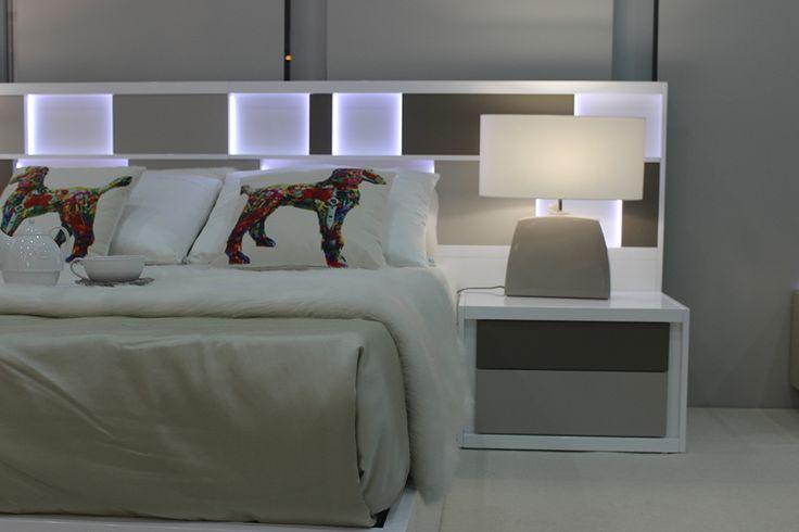 Bed Detail for Feria Mueble Zaragoza 2016. #Serca #Furniture #Zaragoza #FMZ2016 #Design