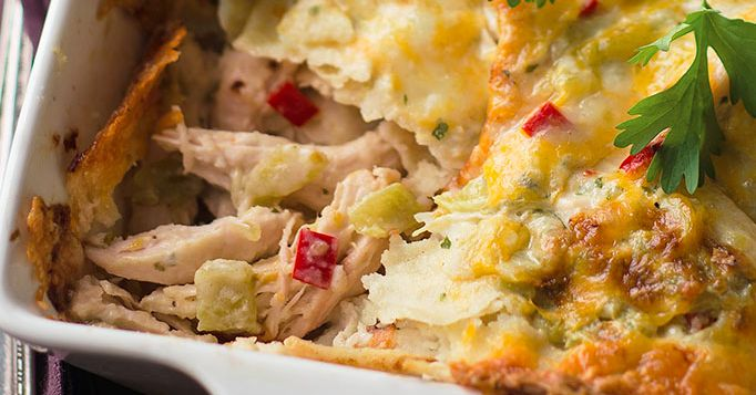 The Neiman Marcus 'King Ranch Chicken' Recipe, The BEST Tex-Mex Casserole