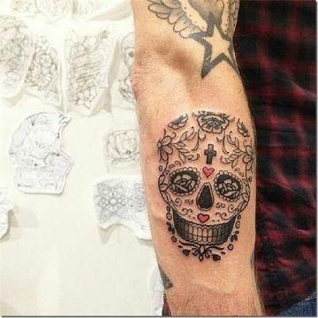 Diseños Y Tatuajes De Calaveras Mexicanas Para Hombres Tatuajes