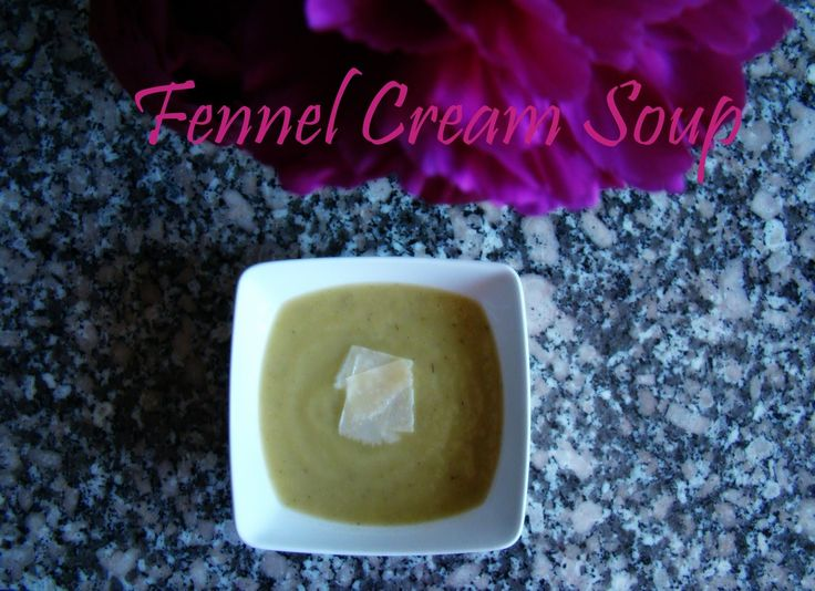 Fennel Cream Soup | booksandlavender.com