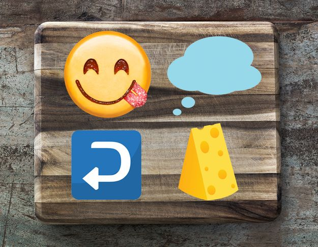 10 Emoji Phrases For Anyone Who's Obsessed With Food