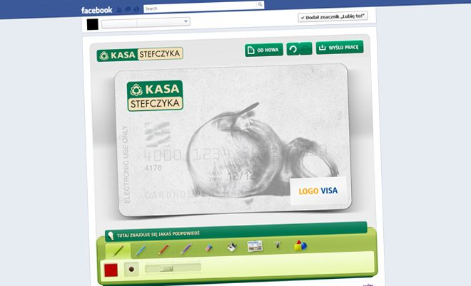 Kasy Stefczyka: Design your credit card - Jamel Interactive interactive agency Gdansk, Tricity