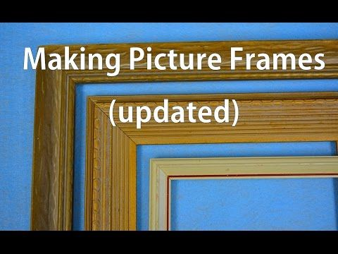 how to make your own picture frames for cheap