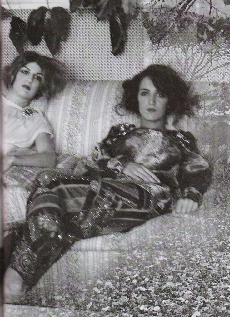 Coco and Bianca Brandolini by Deborah Turbeville