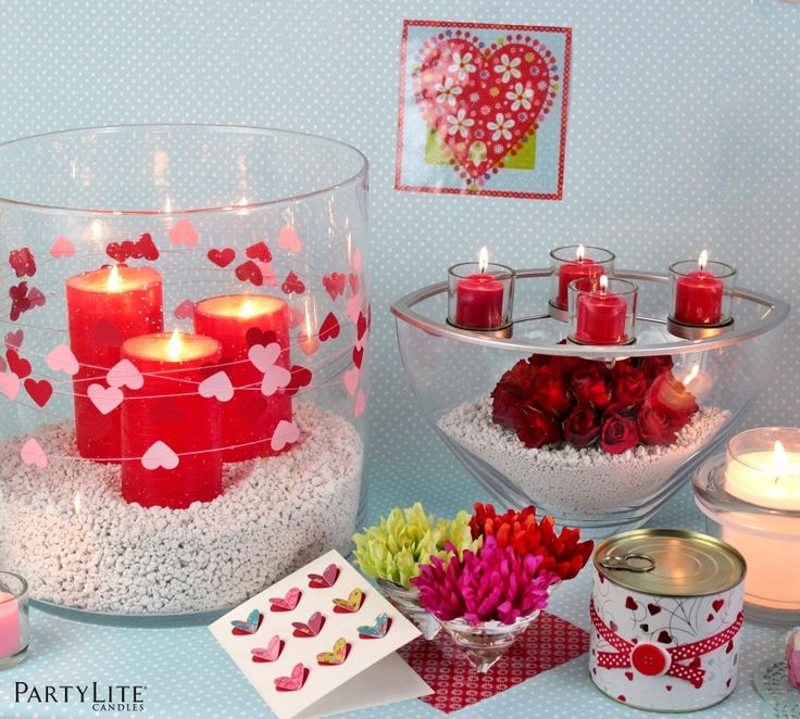 Diy valentine 39 s day decoration atelier d co saint valentin deco saint - Decoration st valentin ...