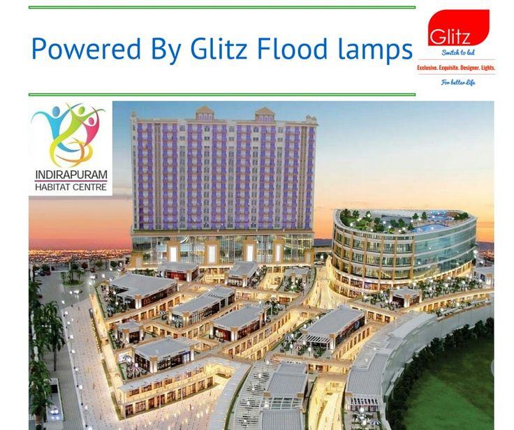 Indrapuram Habitat Center is shining with our Flood lamp range, will be finished soon