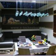 interior living room - aranżacja salonu e-technologia