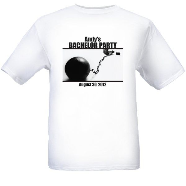 $22.00 Personalize this hilarious Bachelor party T-Shirt for all your guys to remember a the night before you got hitched!     Please include sizes (S to XL) and personalization in the note box during checkout.