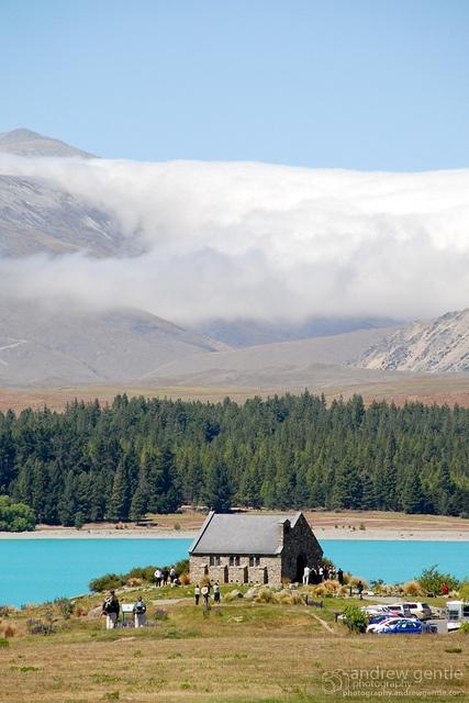 A church on Lake Tekapo, NZ ... Amen!