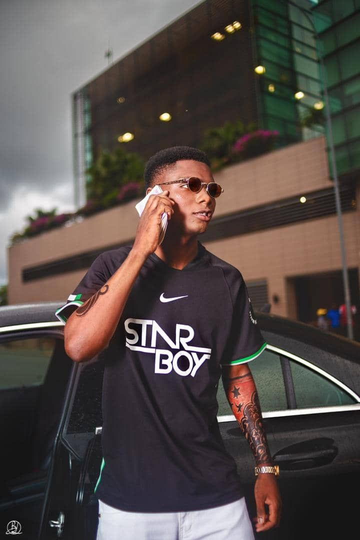 Another Carbon Copy Of Wizkid Shows Up Photos Vidoes Latest Nigeria News Nigerian Mens Tops