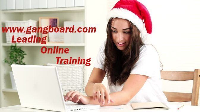 real-time online training from gangboard online training & certification