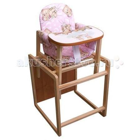 Папа Карло ЦС  — 1310р. ----------------------------------------  Стульчик для кормления, для самых маленьких.  Легко трансформируется в столик и стул.  Удобная широкая столешница из гладкого дерева будет отлично вмещать посуду для кормления и предметы детской гигиены (столешница обработана безопасной пвх кромкой).  Когда ваш активный малыш подрастет, то сможет самостоятельно регулировать спинку и высоту стульчика. Мягкое тканное сиденье с водоотталкивающей поверхностью. Есть ремешок для…