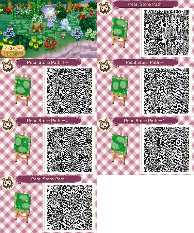 Animal Crossing Floor Pattern Design