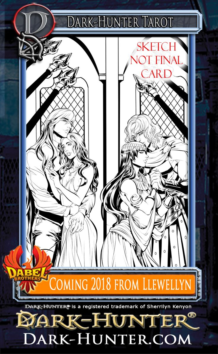 Fun Things To Share Today! This Is Just The Mockup For The Latest  Sherrilyn Kenyondark Huntertarot