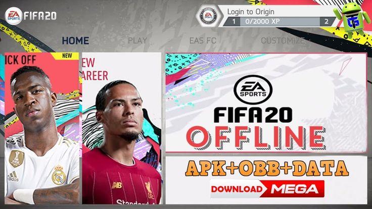 FIFA 2020 Mod FIFA 14 Offline APK OBB Data 800MB Download