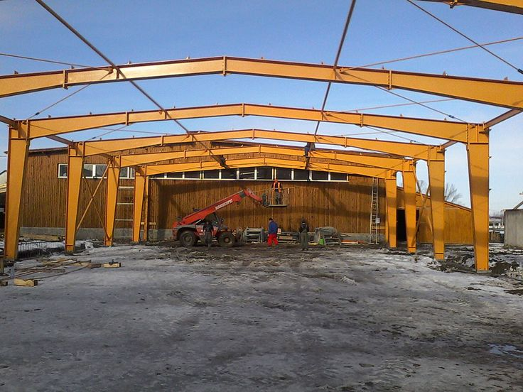 Hala metalica Centru echitatie Prejmer - Duna-steel.ro
