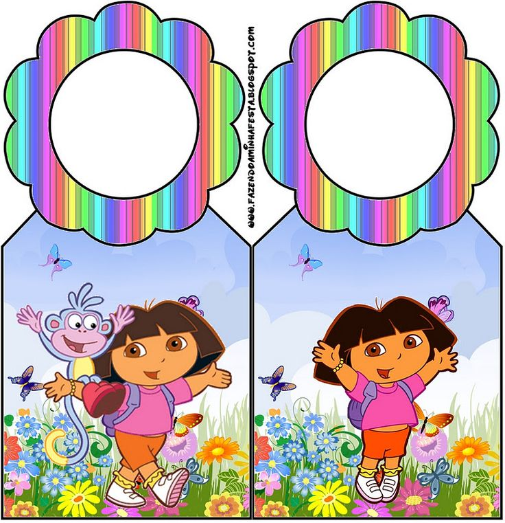 70 best Dora la Exploradora images – Printable Dora Birthday Invitations