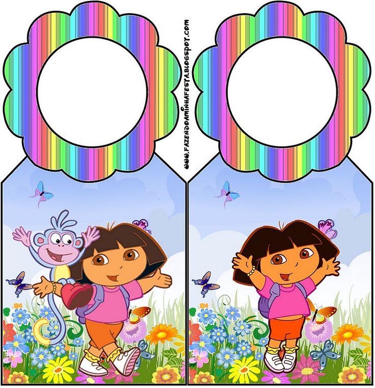 Imprimibles gratis de Dora la Exploradora.