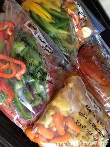 12 healthy crockpot meals to be frozen prepped in 2 hours by juliet