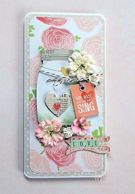 My Valentine Card.