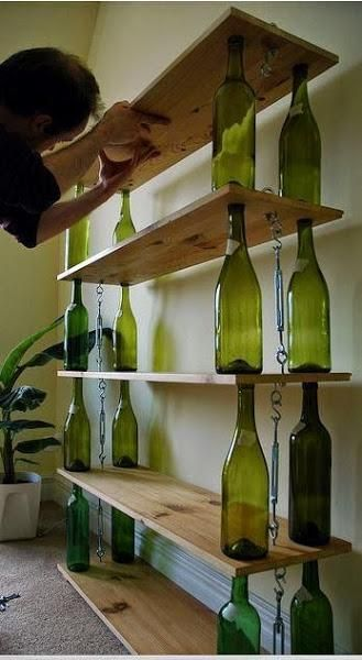 Miércoles de inspiración: Reciclando botellas de cristal