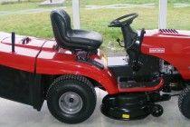 Craftsman riding lawn mower