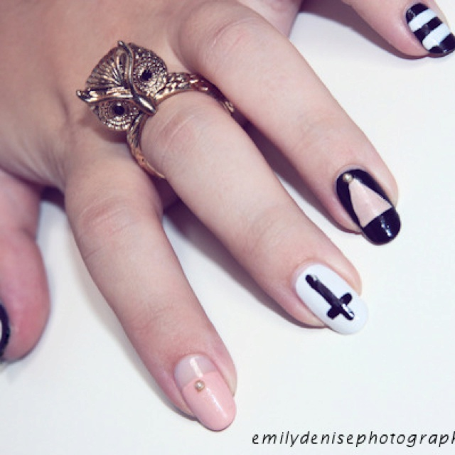 Pointy Nail Designs Pinterest Pointy nails
