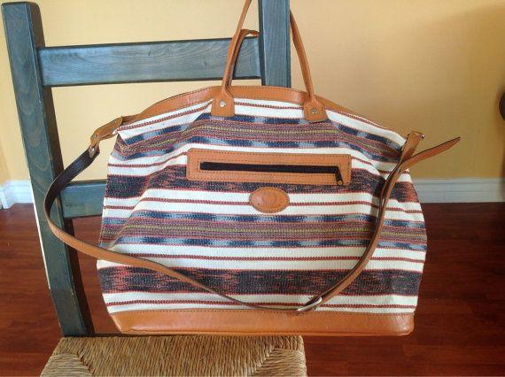 Guatemalan Textile Shoulder Bag by CactusBlossomVintage on Etsy