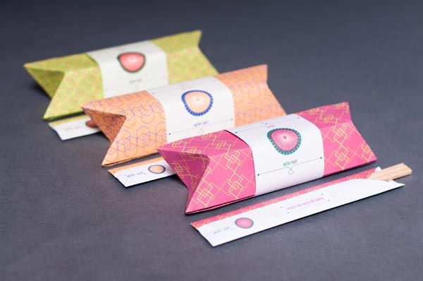 Sushi Packaging.
