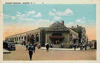 Newark New Jersey NJ 1920 Hudson Terminal Pennsylvania Railroad Vintag – Moodys Vintage Postcards